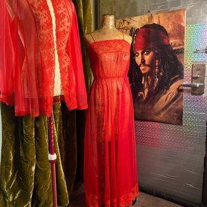 Sears vintage nightgown set